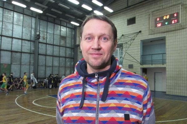 Андрей Харчинский - тренер мужской сборной Украины по баскетболу (U-16)
